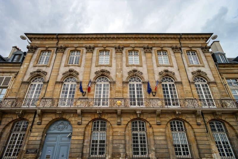 Hoofdartikel, 31 Juli 2016: Nancy, Frankrijk: Toeristisch centrum van stock afbeeldingen