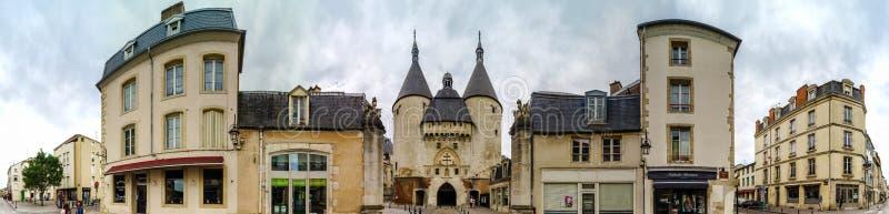 Hoofdartikel, 31 Juli 2016: Nancy, Frankrijk: Toeristisch centrum van royalty-vrije stock foto's