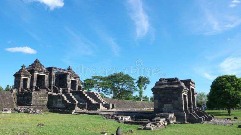 Hoofdingang van het paleis van ratuboko