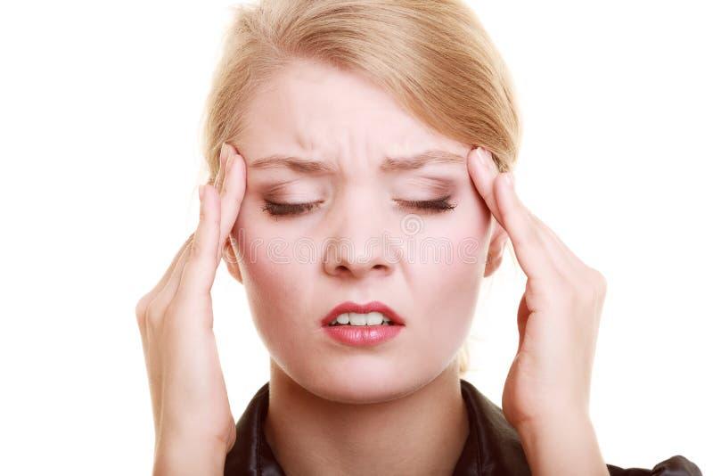 warm hoofd en hoofdpijn