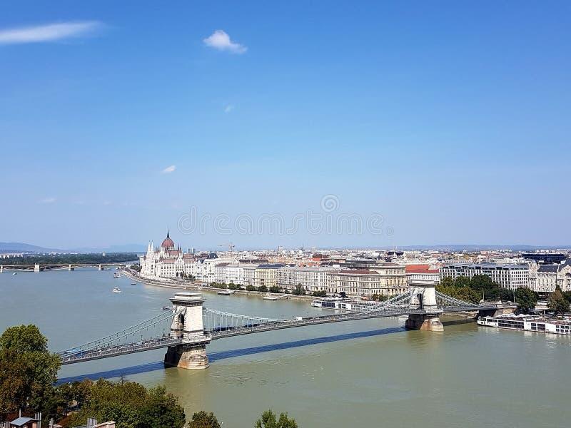 Hoofdstad van Hongarije Boedapest stock foto