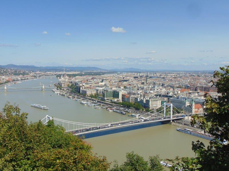 Hoofdstad van Hongarije Boedapest stock fotografie