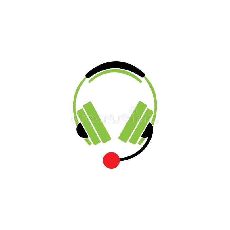 Hoofdtelefoon vector illustratie