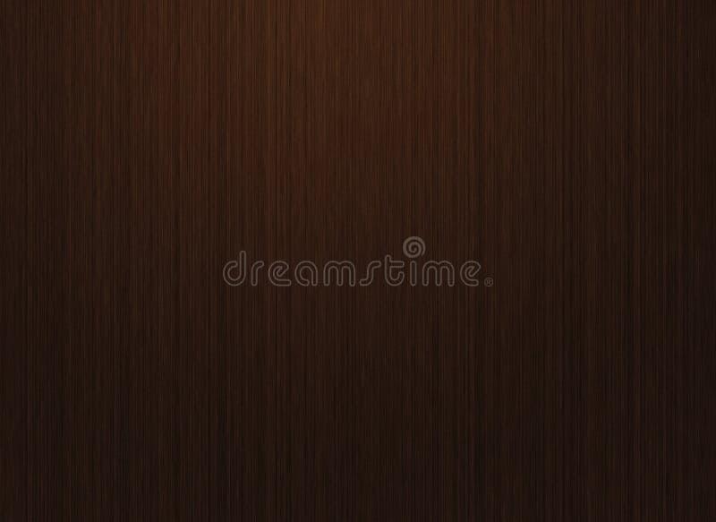 Hoog - de donkere houten textuur van de kwaliteitsresolutie stock illustratie