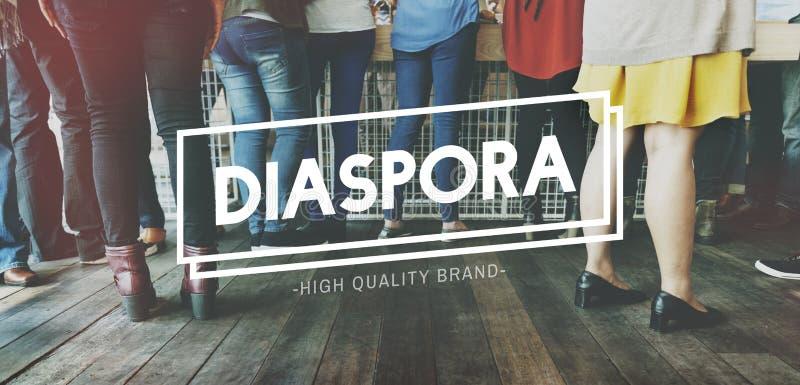 Hoog Diaspora - het Concept van het kwaliteitsmerk stock afbeeldingen