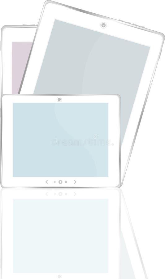 Download Hoog-High-detailed Zwarte TabletPC Op Witte Achtergrond Royalty-vrije Stock Fotografie - Afbeelding: 24298737