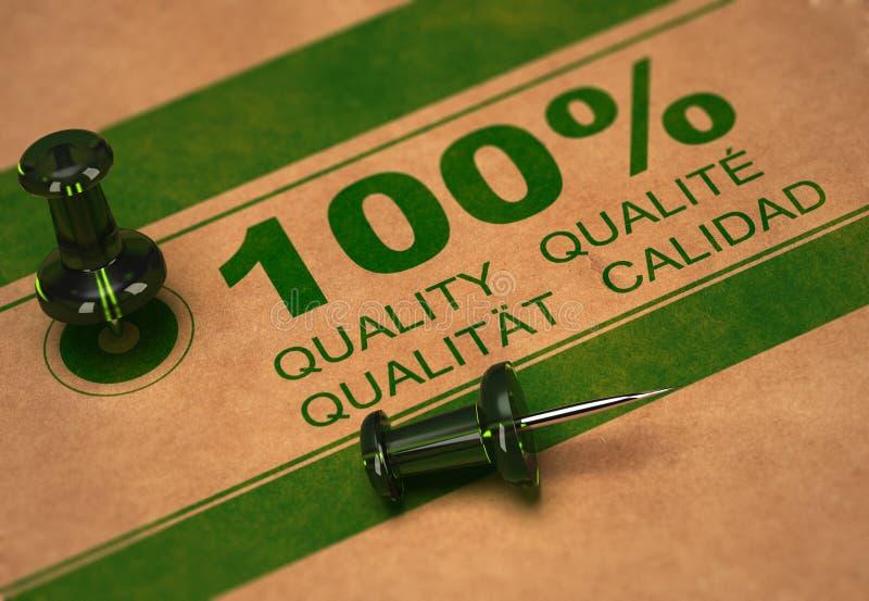 Hoog - kwaliteit Milieu royalty-vrije illustratie