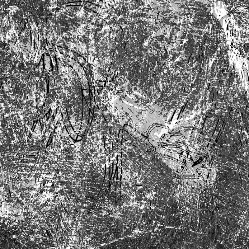 Hoog - kwaliteits zwart-witte infrarode grunge textuur als achtergrond vector illustratie