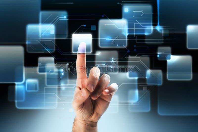 Hoog - technologie stock afbeelding