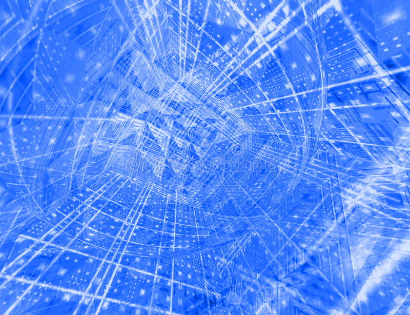 Hoog - technologie abstracte achtergrond