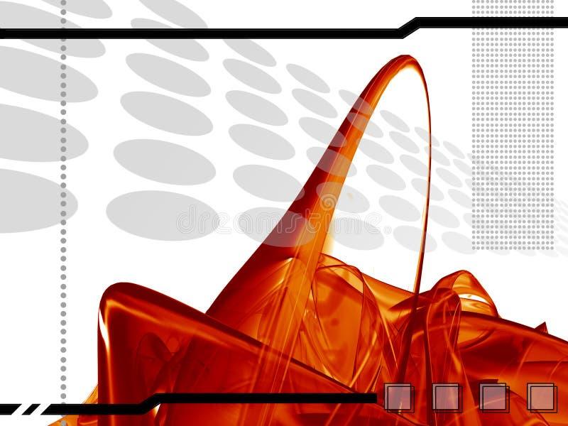 Hoog - technologiemalplaatje royalty-vrije illustratie