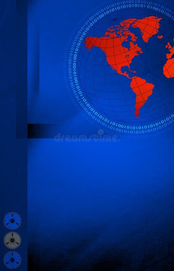 Hoog - technologiewereld royalty-vrije stock foto
