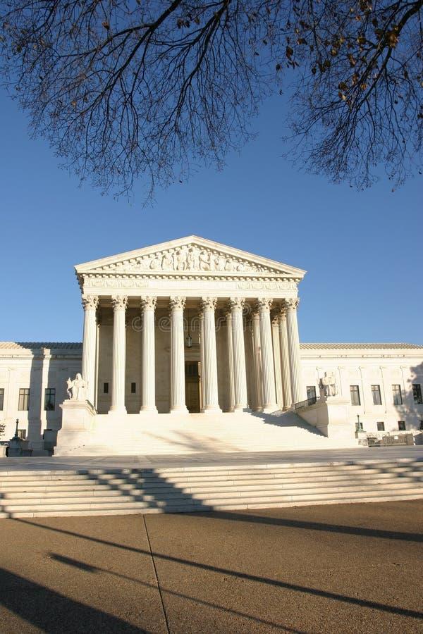 Hooggerechtshof royalty-vrije stock fotografie