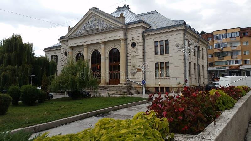 Hooggerechtshofhuis Campulung Muscel Roemenië royalty-vrije stock foto's