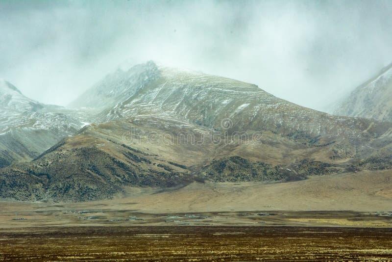 Hoogland Tibet royalty-vrije stock foto's