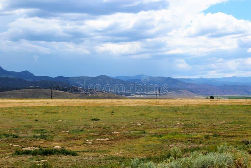 Hooglanden in de Westelijke Verenigde Staten stock fotografie