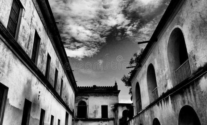 Hoogly Imambara royaltyfri foto