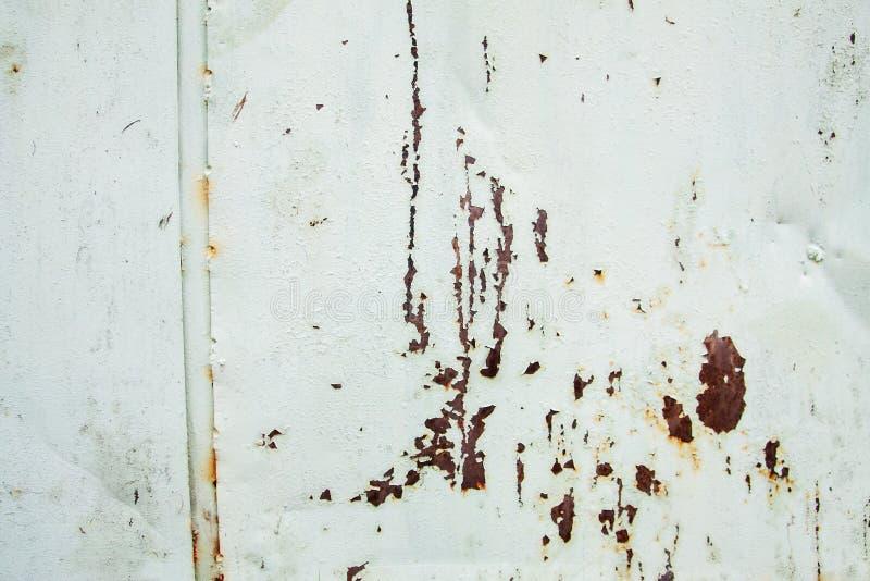Hoogst gedetailleerd beeld van achtergrond van het grunge de roestige metaal royalty-vrije stock afbeelding