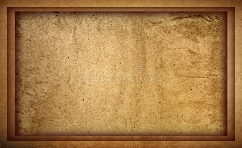 Hoogst Gedetailleerd grunge frame als achtergrond vector illustratie