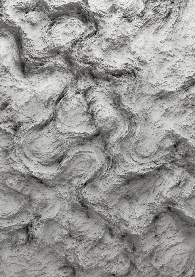 Hoogst Gedetailleerde 3D Textuursamenvatting royalty-vrije stock afbeeldingen