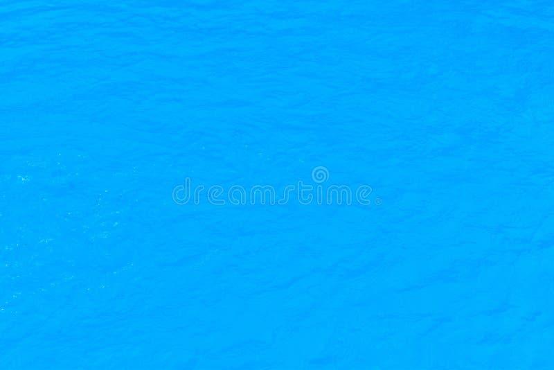 Hoogste het zwembadachtergrond van het menings blauwe water royalty-vrije stock afbeeldingen
