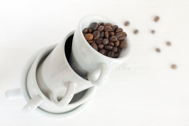 Hoogste koffiesmaak royalty-vrije stock afbeeldingen