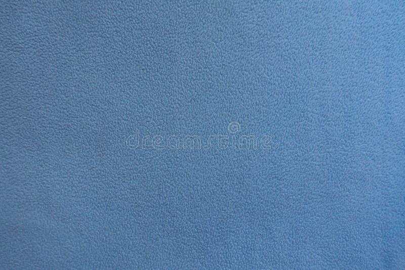 Hoogste mening van blauwe vachtstof royalty-vrije stock afbeeldingen