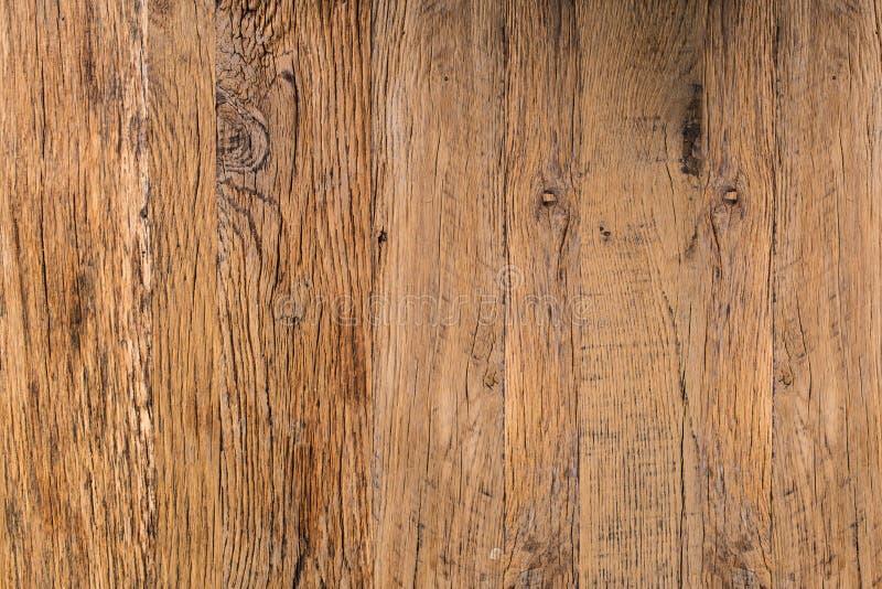 Hoogste Mening van Bruine Natuurlijke Rustieke Houten Textuur Abstracte Backgroun stock afbeelding