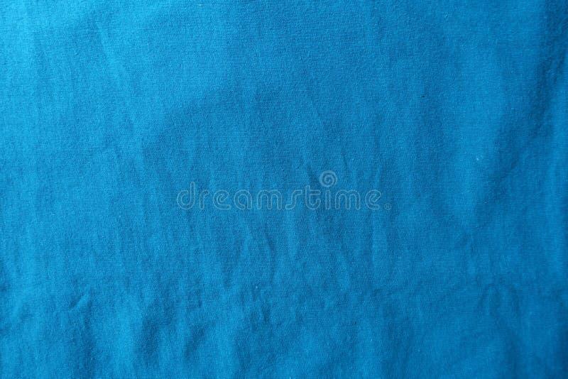 Hoogste mening van cerulean katoenen stof royalty-vrije stock afbeeldingen