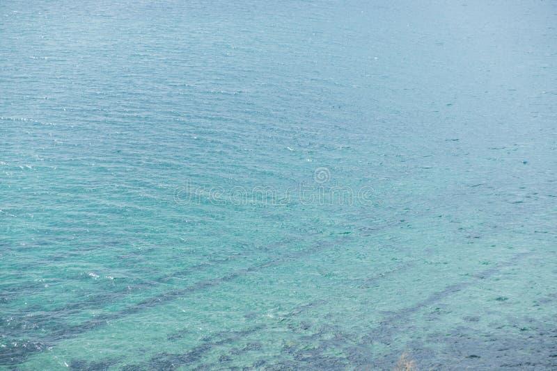 Hoogste mening van de rust van de Zwarte Zee royalty-vrije stock afbeelding