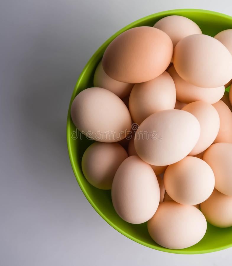 hoogste mening van eieren in gezonde komgroep, ingrediënt, het leven, macro, maaltijd, voedzame aard, nieuw, ovaal voorwerp, oud, stock fotografie