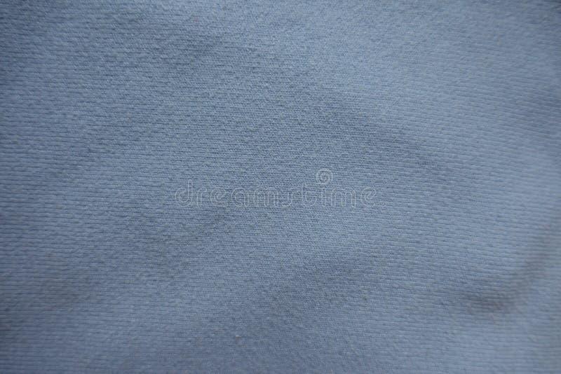 Hoogste mening van hemel blauwe stof royalty-vrije stock afbeeldingen