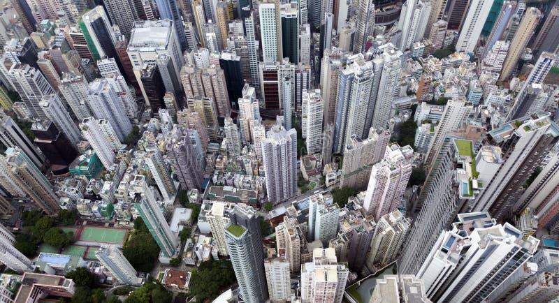 Hoogste mening van Hongkong, Kowlon royalty-vrije stock foto
