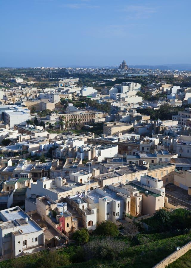 Hoogste mening van Rabat stock foto