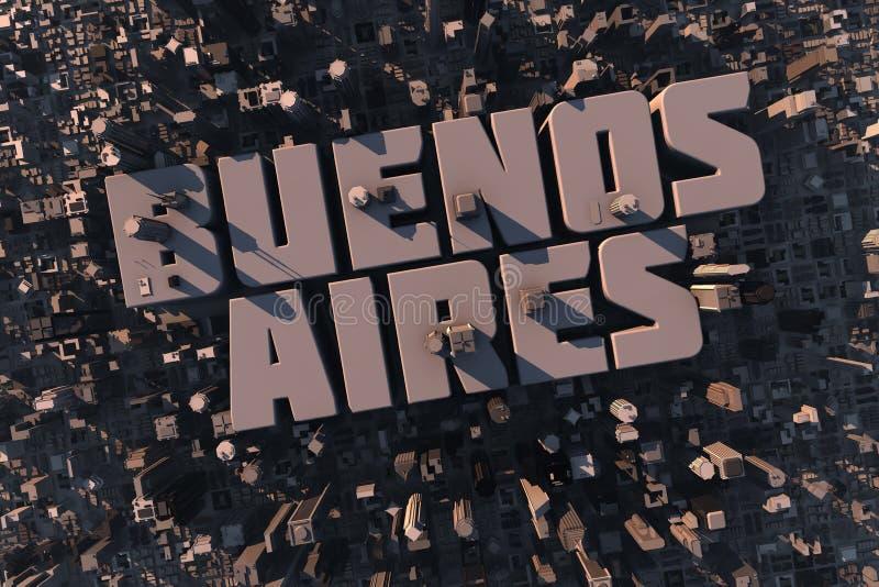 Hoogste mening van stedelijke stad in 3D vector illustratie