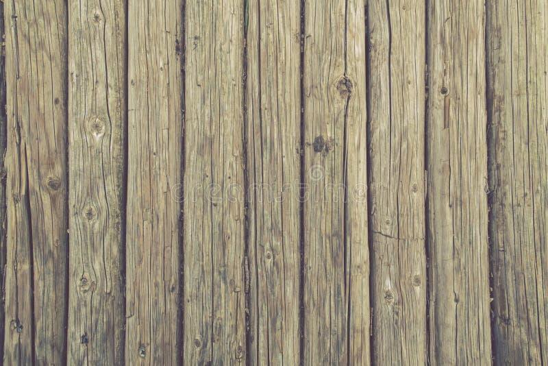 Hoogste Weergeven van Natuurlijke Houten Doorstane achtergrond royalty-vrije stock afbeeldingen