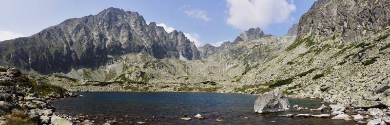 Hoogte in de bergen royalty-vrije stock foto's