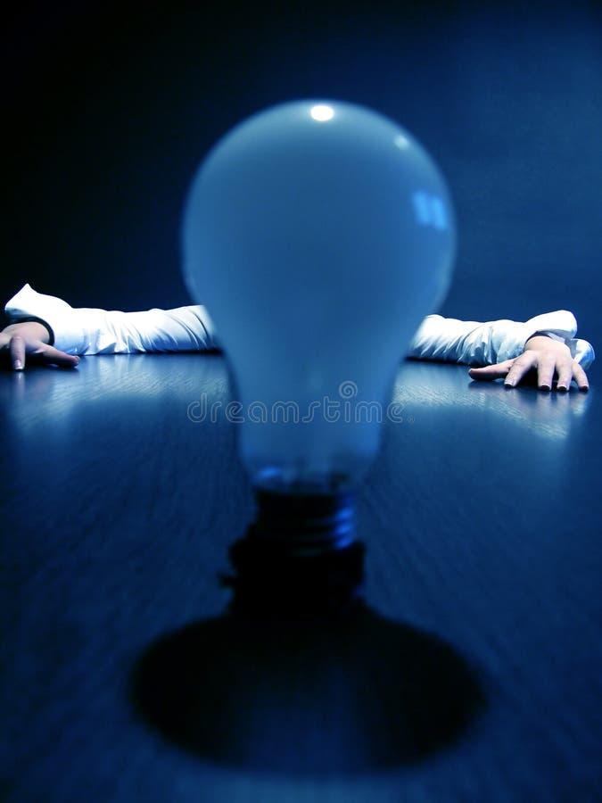 Hoogtepunt van ideeën stock afbeelding