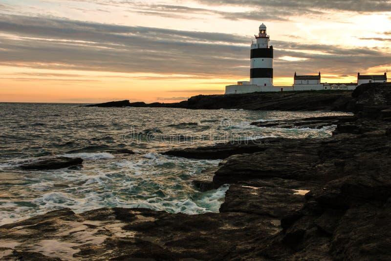 Hook Head lighthouse. Wexford. Ireland royalty free stock photo