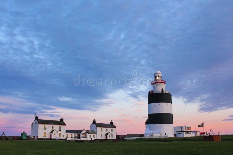 Hook Head lighthouse. Wexford. Ireland stock photo