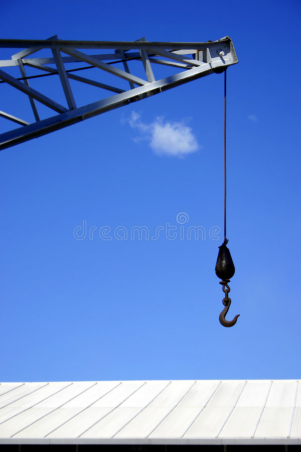 Download Hook And Roof Royalty Free Stock Photography - Image: 577007