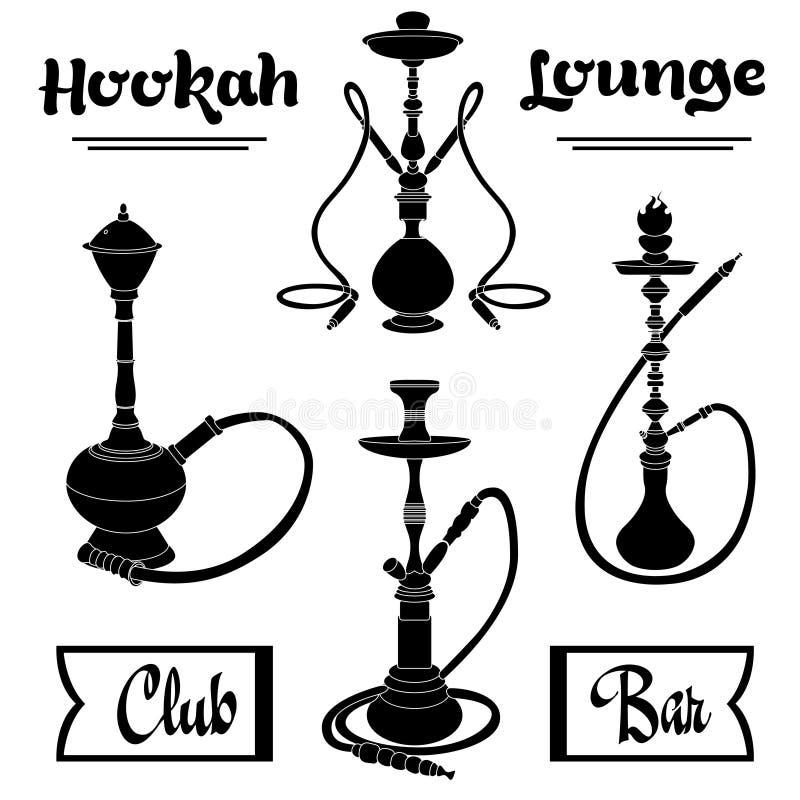 hookah ilustración del vector