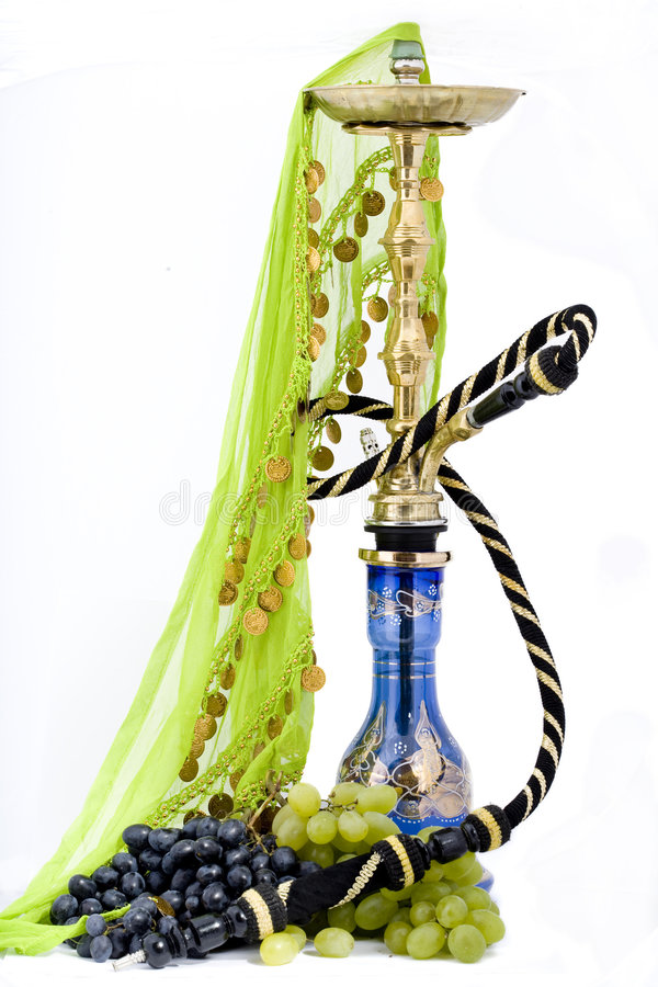 Hookah And Grape Stock Image