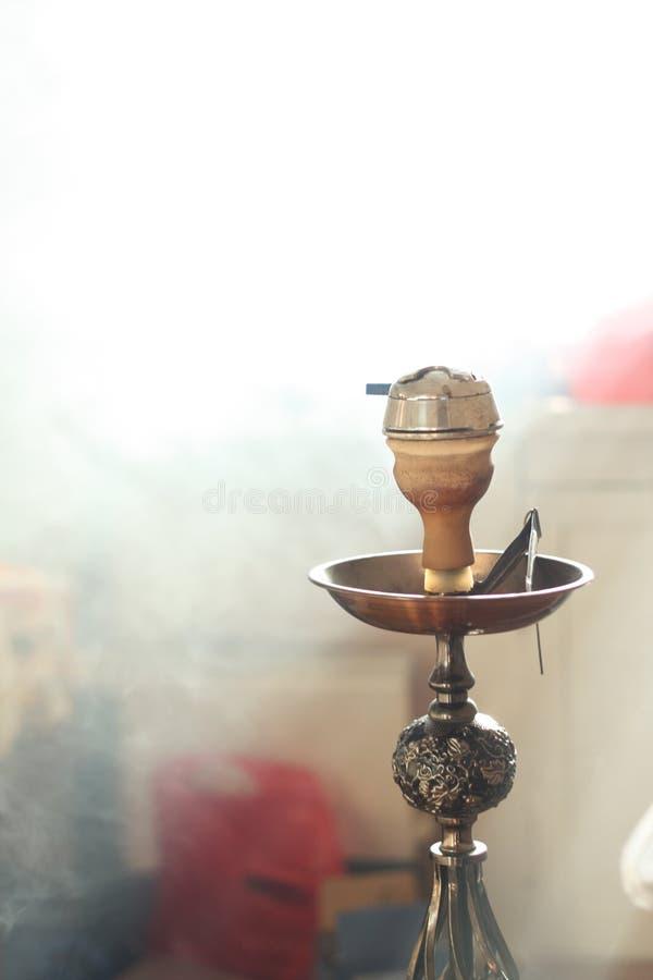 Hookah. The hookah on the smoke stock photo