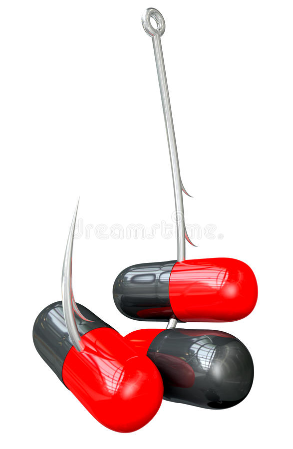 Download Hooked On Drug Addiction stock illustration. Image of plastic - 27069886