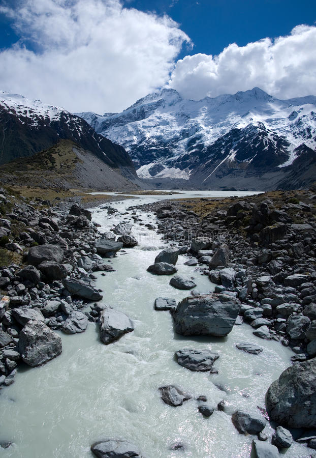 Download Valley And Mount Cook Royalty Free Stock Photos - Image: 22674348