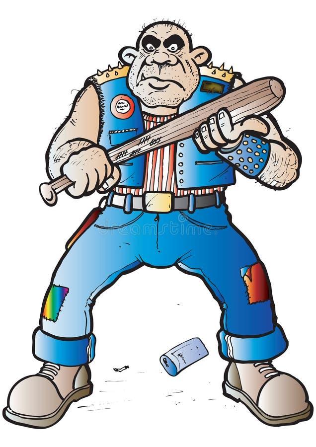 Hooligan ilustração do vetor
