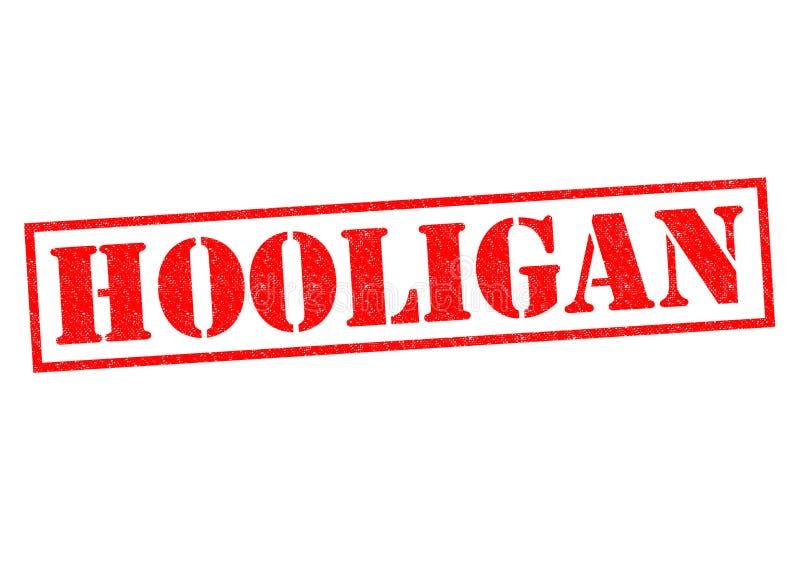 hooligan stock illustratie