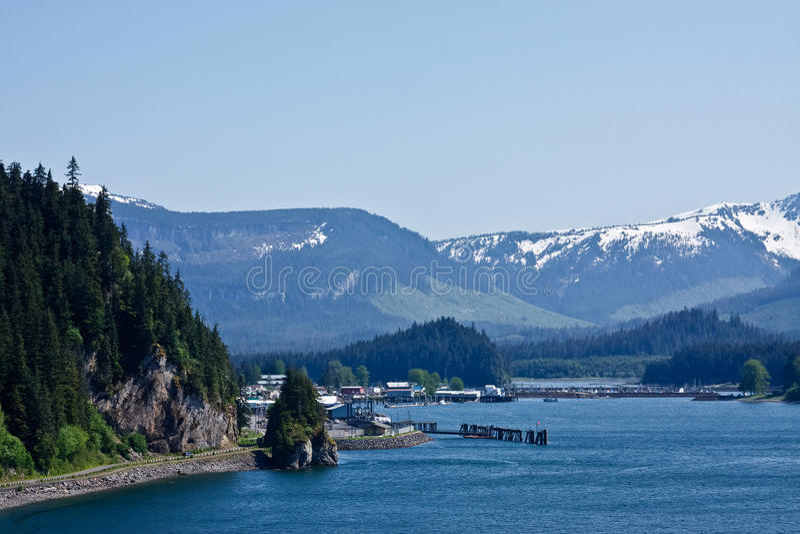 Hoonah, Alaska photographie stock libre de droits