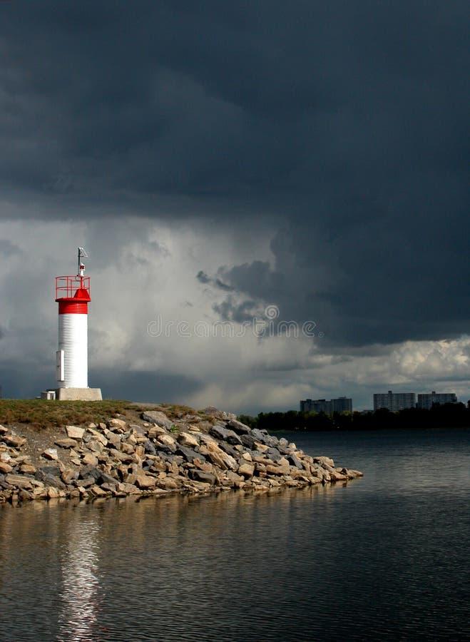 Hoop in een onweer stock foto's